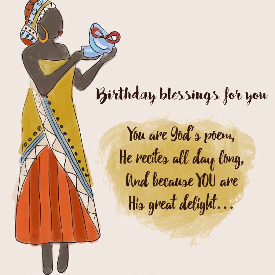 Birthday blessings for you – Seasonal words with Layne Estell