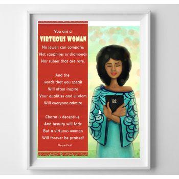 Virtuous Woman frame